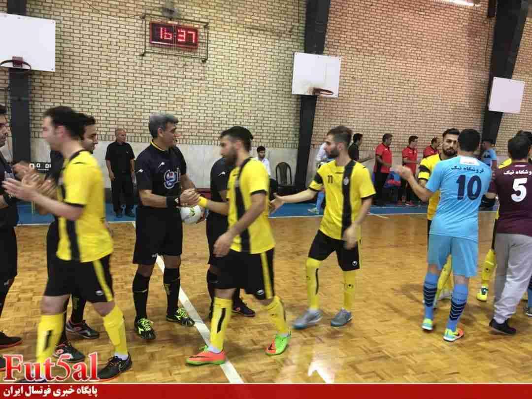 گزارش تصویری/بازی تیم های مقاومت قرچک با حفاری خوزستان
