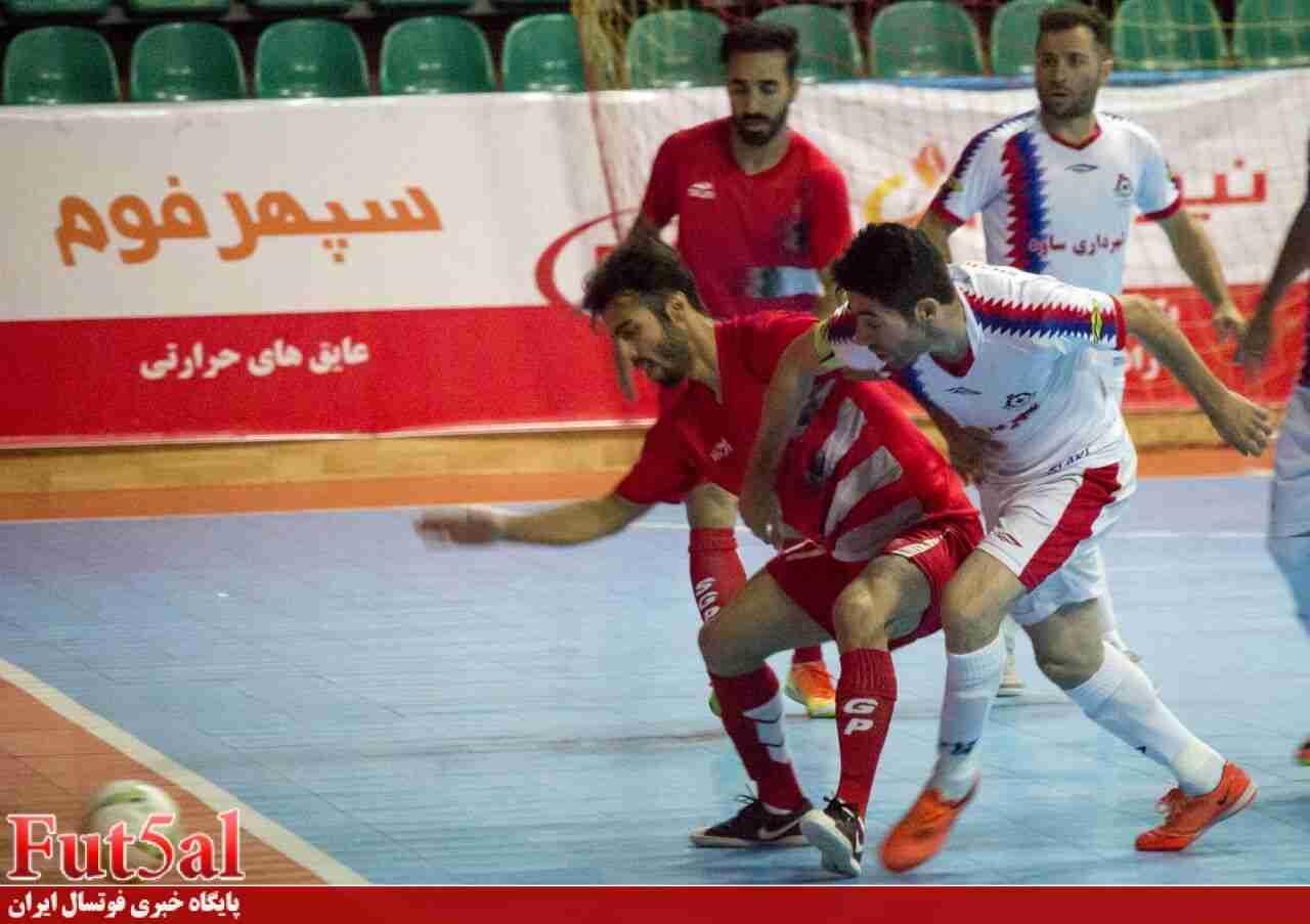 مصاحبه fut5al با بازیکنان گیتی پسند و پارسیان بعد از بازی امروز