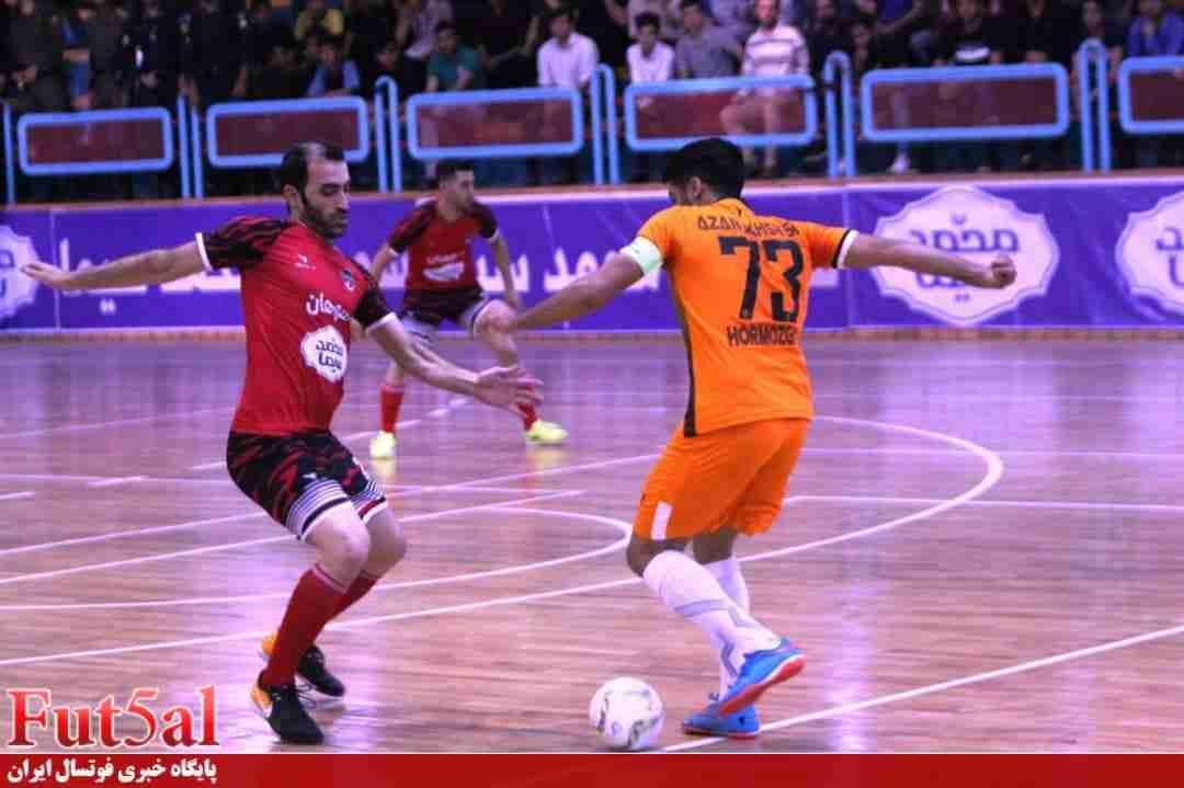 گزارش تصویری/بازی تیم های سوهان محمد سیمای قم با آذرخش بندرعباس