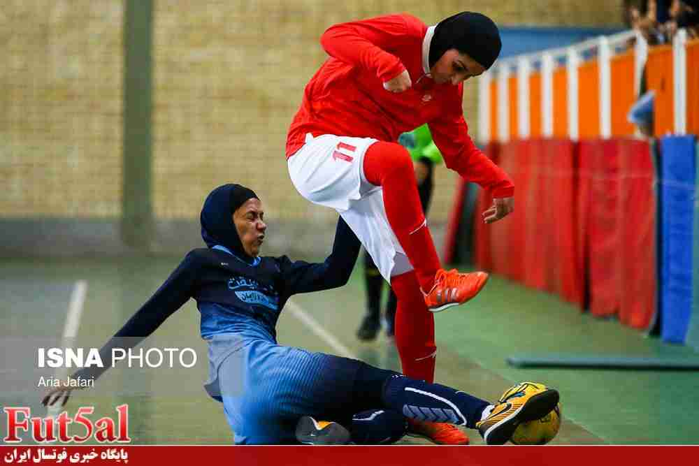 گزارش تصویری/بازی تیم های فوتسال بانوان دریژنو فرخ شهر و سپیدرود تهران