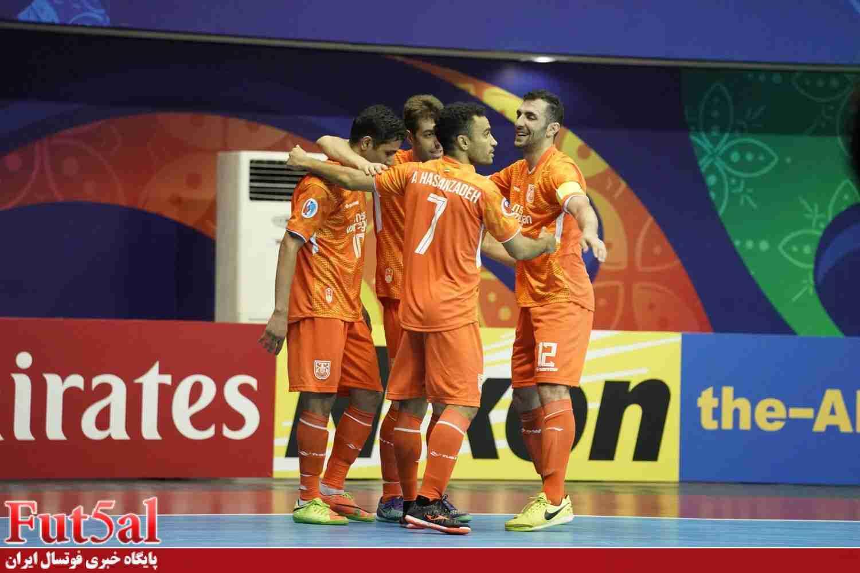 پیروزی پرگل لاله های نارنجی/مس سونگون صعود کرد