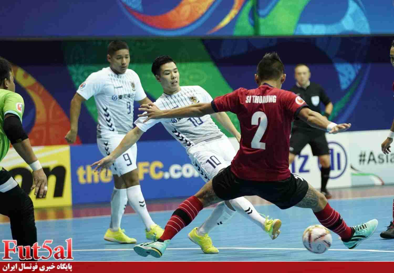 پیروزی پرگل الظفره امارات مقابل نماینده کُره/ناگویا ژاپن صعود کرد