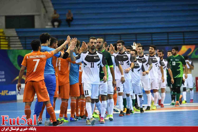 برنامه مرحله یکچهارم نهایی فوتسال باشگاه های آسیا