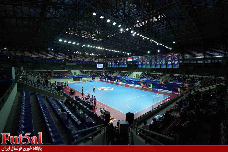 میزبان های المپیک داخل سالن آسیا مشخص شدند