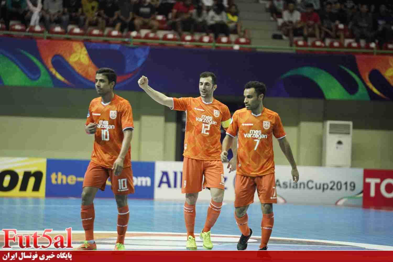 گزارش تصویری/بازی تیم های مس سونگون با تای سون نام ویتنام