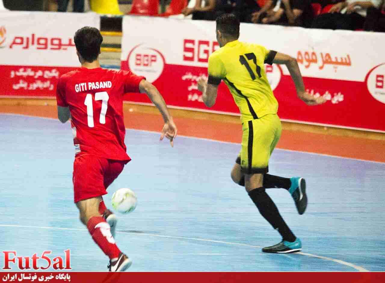 گزارش تصویری/ بازی تیم های گیتی پسند اصفهان و سن ایچ ساوه