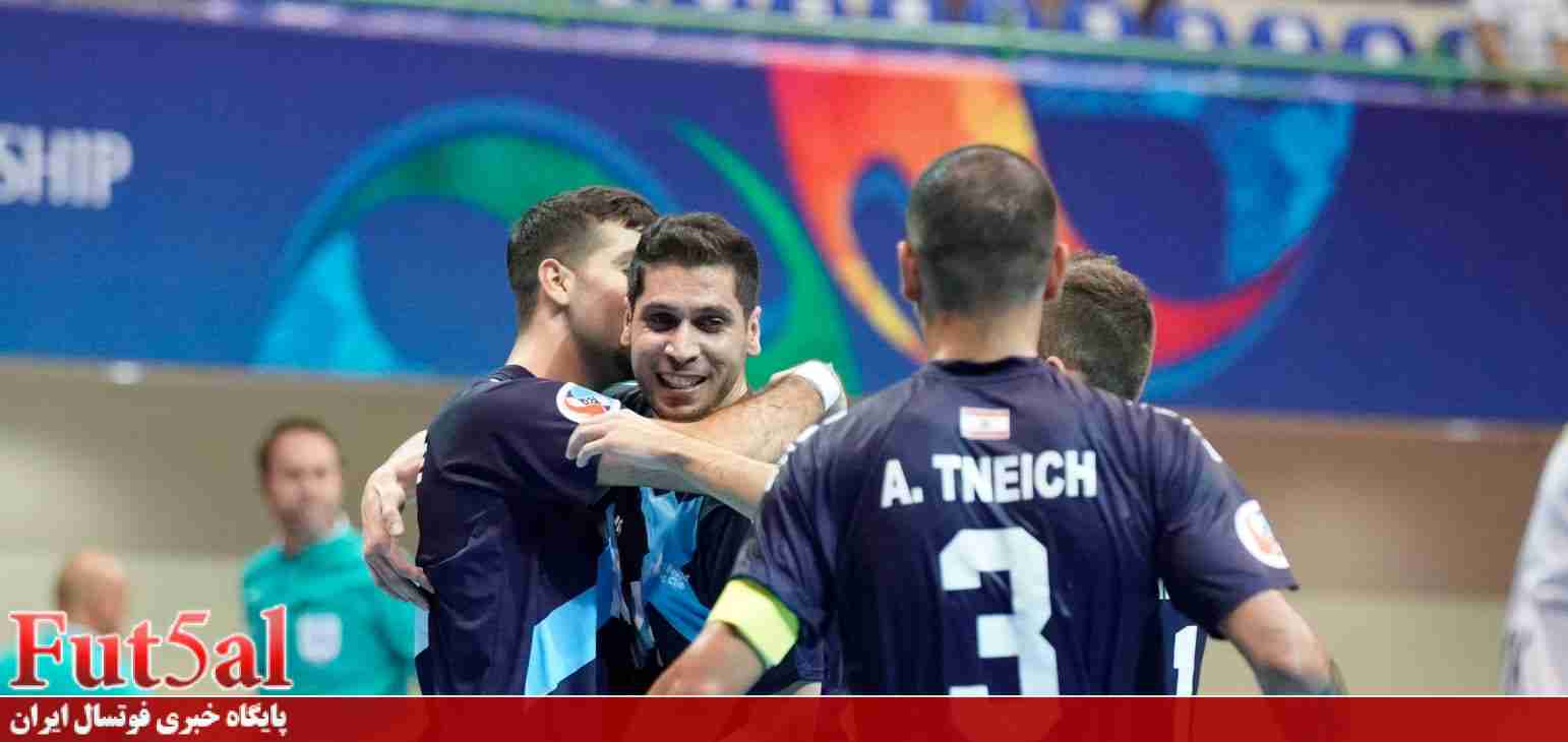 جاوید بهترین بازیکن بازی بانک بیروت و AGMK ازبکستان شد
