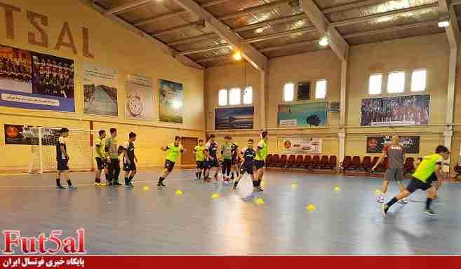برگزاری اردوی تدارکاتی تیم ملی فوتسال المپیک
