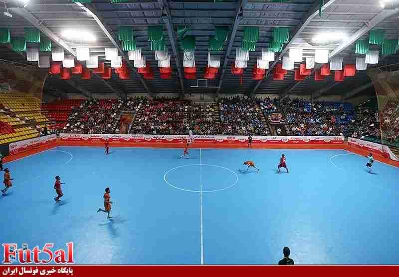 گزارش تصویری/بازی تیم های گیتی پسند اصفهان با آذرخش بندرعباس