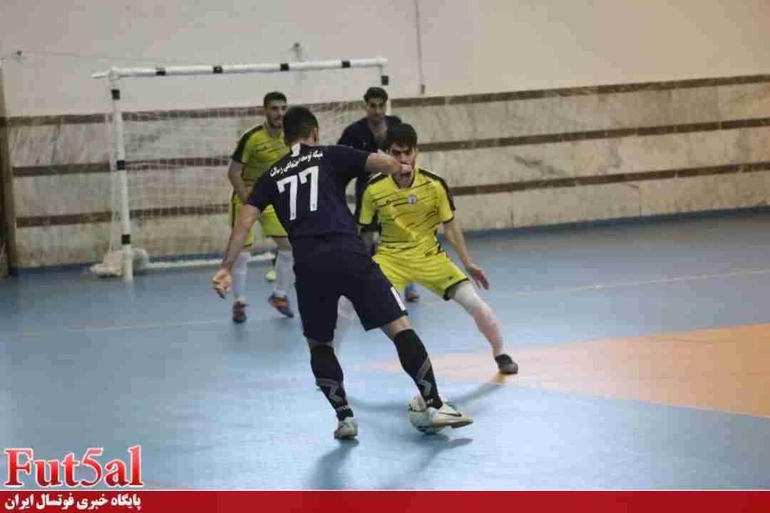 گزارش تصویری/بازی تیم های نام آوران رسالت مازندران با شهرداری رشت
