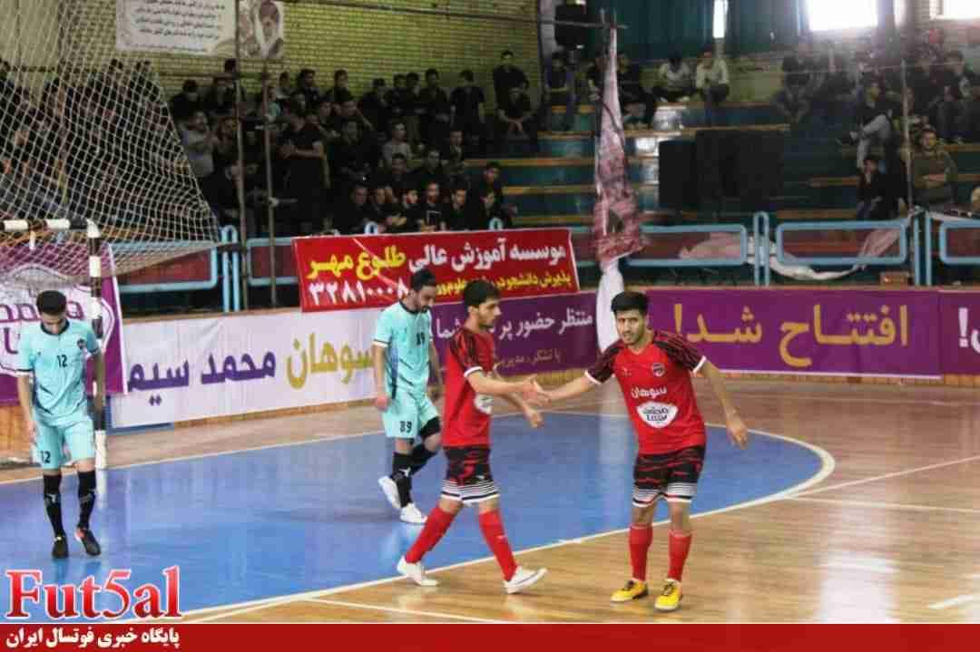 گزارش تصویری/بازی تیم های سوهان محمد سیمای قم با اهورای بهبهان