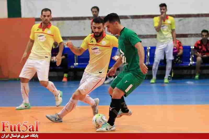 گزارش تصویری/بازی تیم های رسالت مازندران با هایپر شاهین شهر