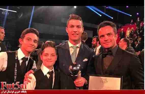 گزارش تصویری/فالکائو و ستاره های فوتبال