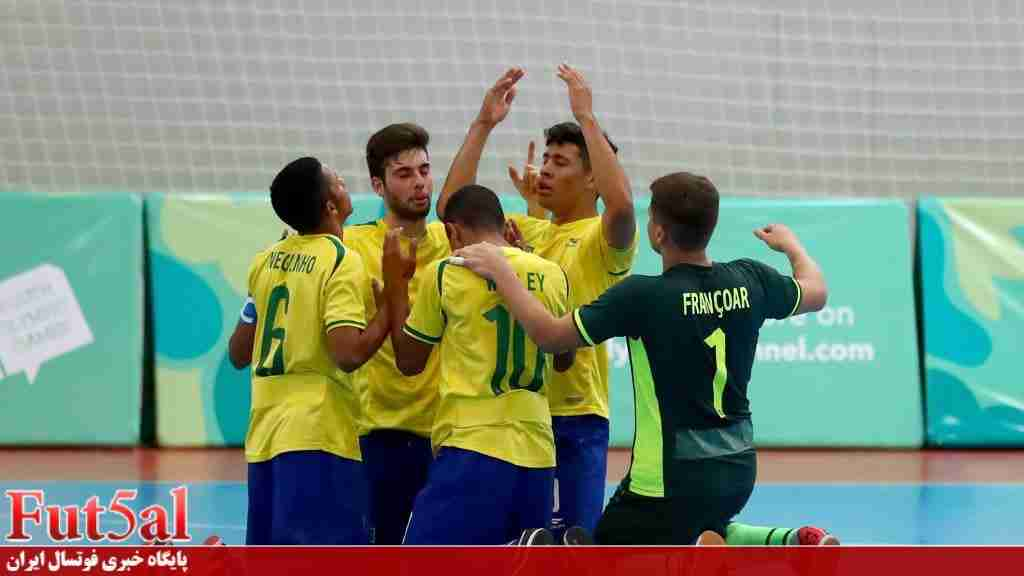 پیشنهاد تیم ملی برزیل برای دیدار دوستانه با شاگردان ناظمالشریعه