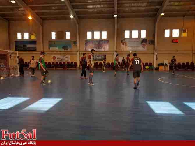 تمرین شاداب تیم ملی فوتسال + گزارش تصویری