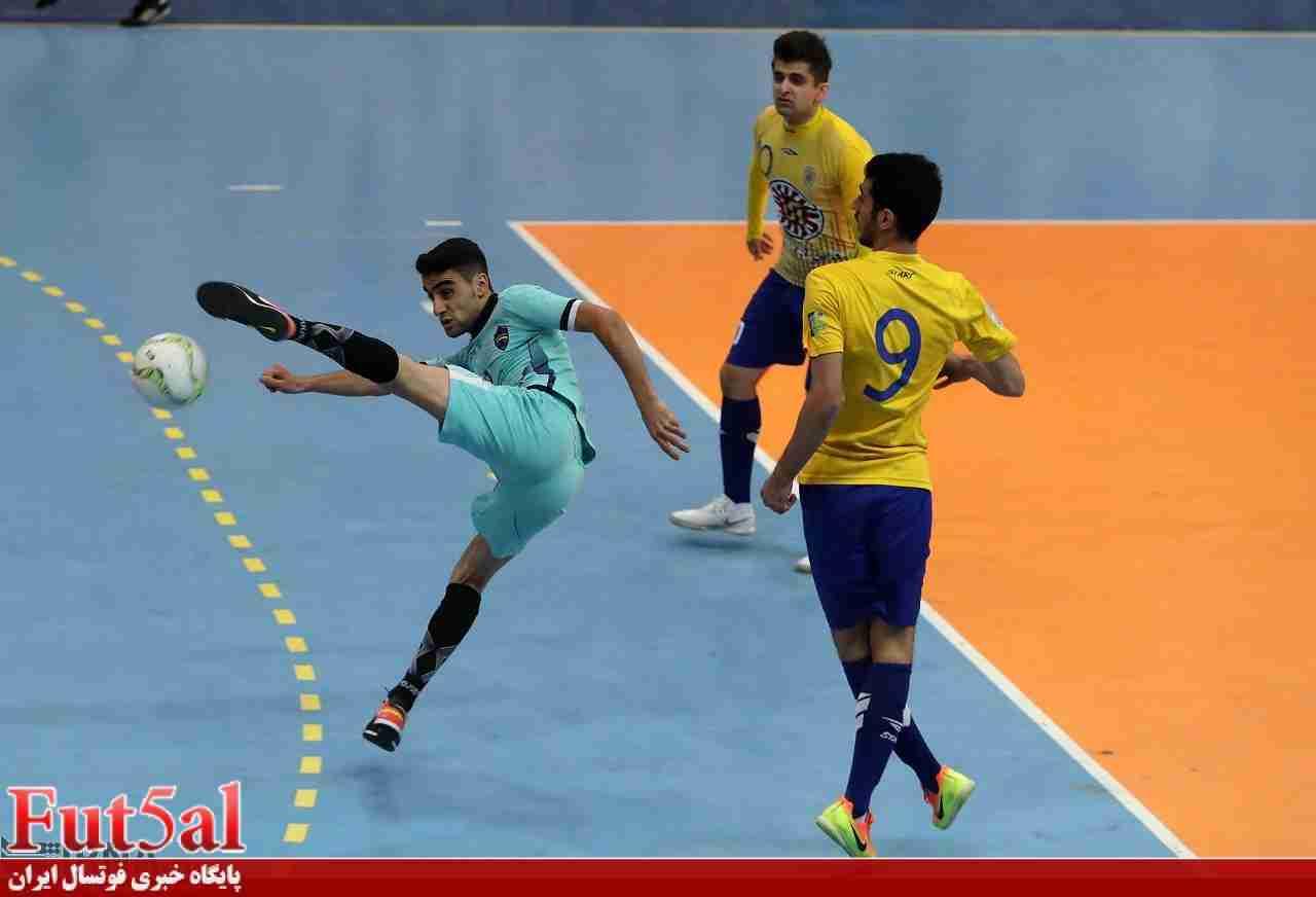 گزارش تصویری/ بازی تیم های فرش آرای مشهد و اهورا بهبهان