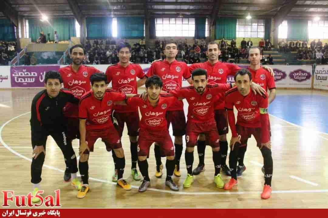 رقابت بر سر امتیاز تیم لیگ برتری فوتسال قم
