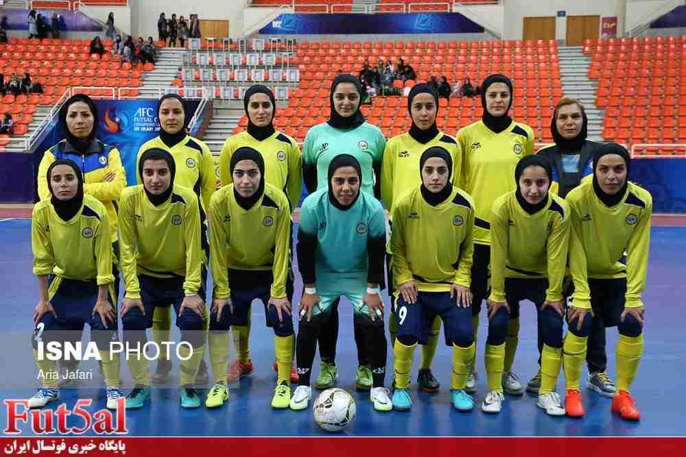 نامینو اصفهان قهرمان لیگ برتر فوتسال بانوان شد