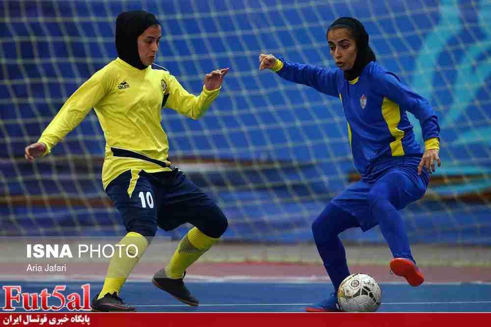 گزارش تصویری/بازی تیم های بانوان نامی نو اصفهان با حفاری خوزستان