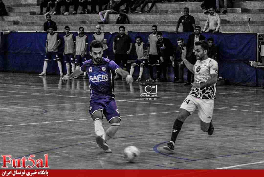 گزارش تصویری/بازی تیم های سفیر گفتمان تهران با شهرداری قزوین