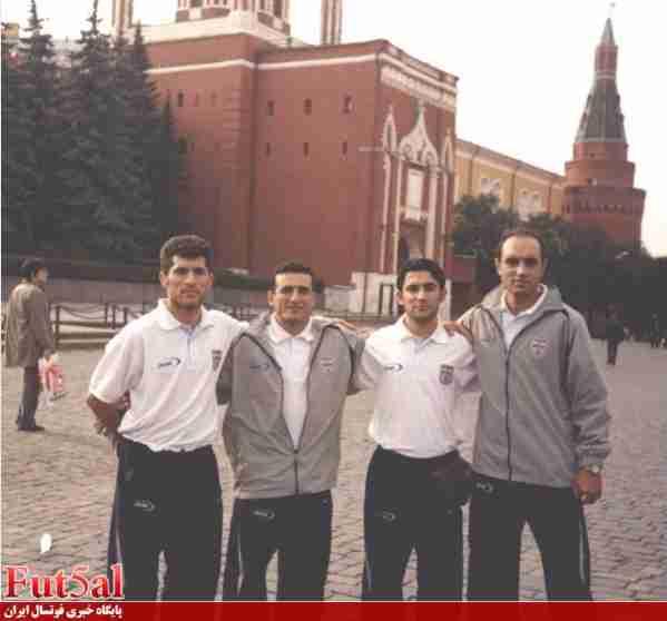 معصومی و ستارگان ملی در مسکو