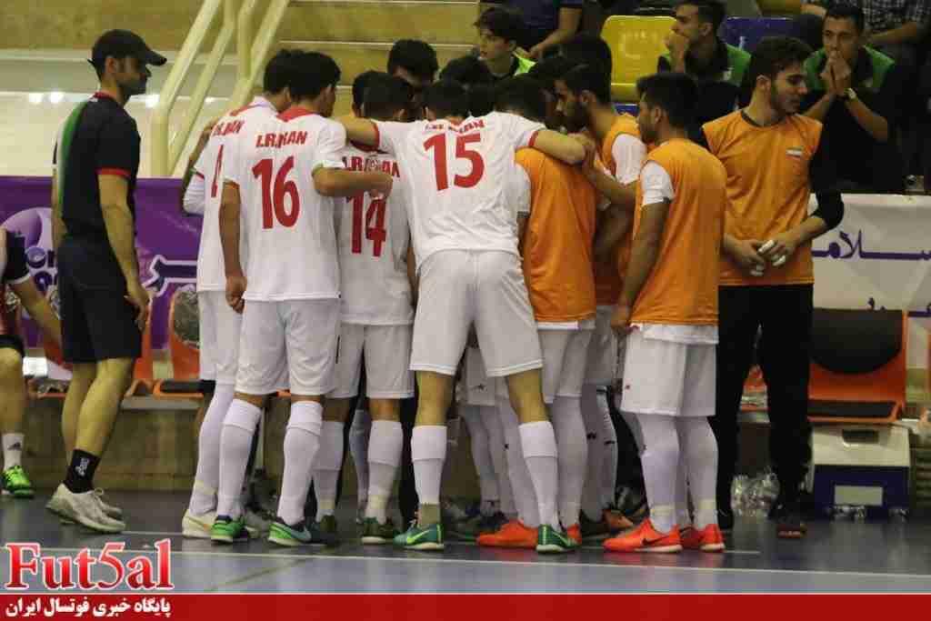 تیم ملی فوتسال زیر ۲۰سال ایران جایگزین بزرگسالان در تورنمنت تایلند شد
