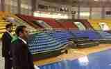 بازدید رئیس کمیته فوتسال از سالنهای ارومیه