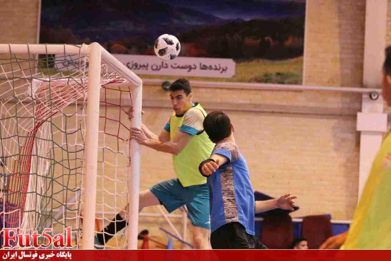 گزارش تصویری/تمرین تیم ملی فوتسال زیر ۲۰ سال ایران