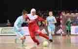 گزارش تصویری  /بازی تیم های بانوان ایران و روسیه