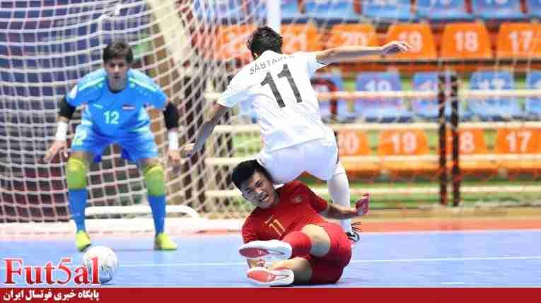 تیم ملی فوتسال اندونزی به دنبال بازی با ایران