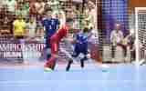 گزارش تصویری/بازی تیم های ژاپن و افغانستان در فینال زیر ۲۰ سال آسیا