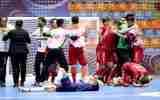 گزارش تصویری/بازی تیم های زیر ۲۰ سال افغانستان با تایلند