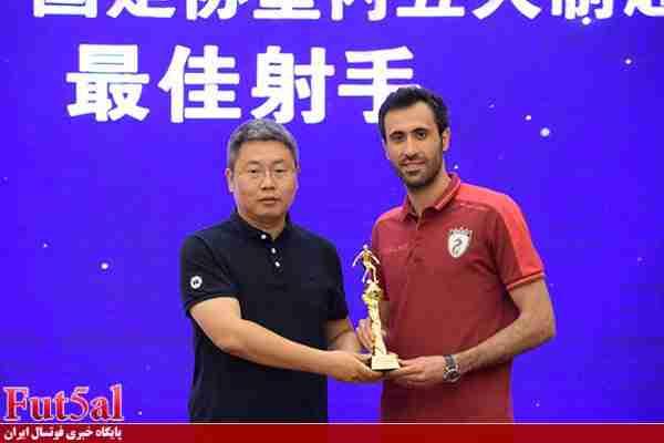 اسماعیلپور: میتوانستم با ۱۰۰ گل آقای گل لیگ چین شوم