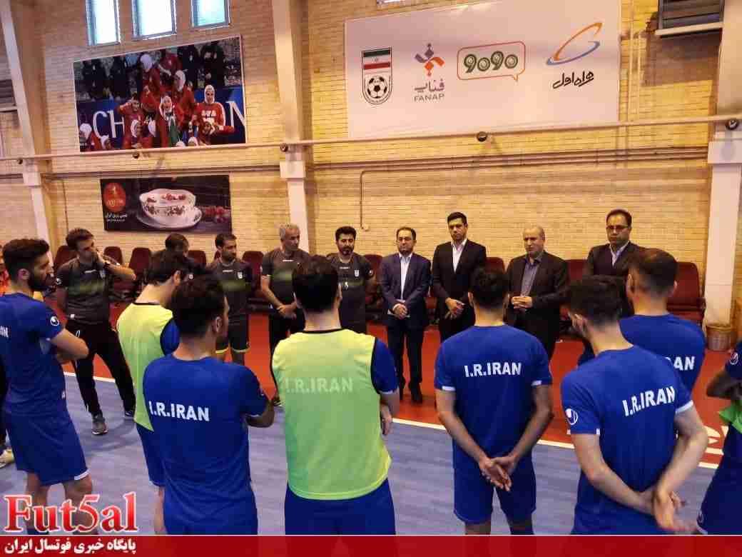 زمان برگزاری اردوی تیم ملی فوتسال مشخص شد