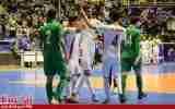 گزارش تصویری/بازی تیم های فوتسال ایران و ترکمنستان
