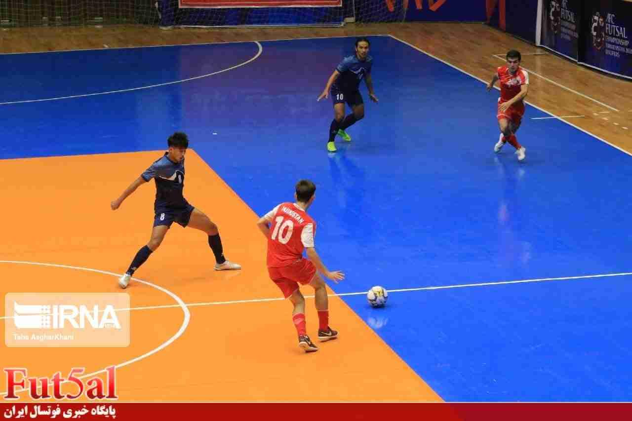 پیروزی پرگل تاجیکستان مقابل نپال در مقدماتی آسیا+گزارش تصویری