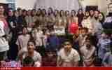 حرکت زییای بازیکنان فوتسال بانوان سایپا