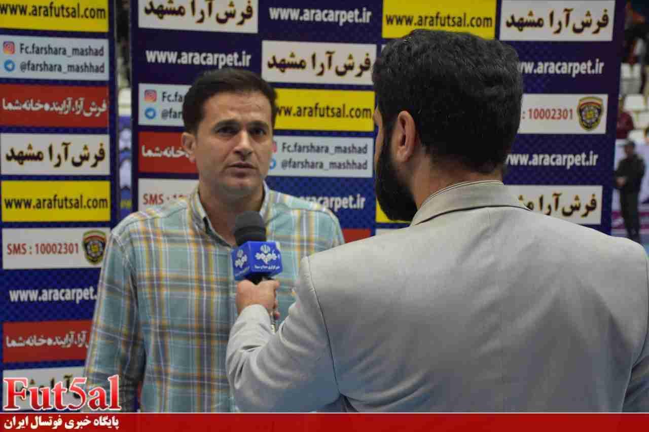 مرتضایی :پیروزی مقابل تیم شهروند راهیابی به پلی آف را هموار میکند