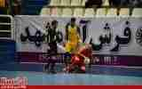 گزارش تصویری/بازی تیم های فرش آرای مشهد با ستارگان ورامین