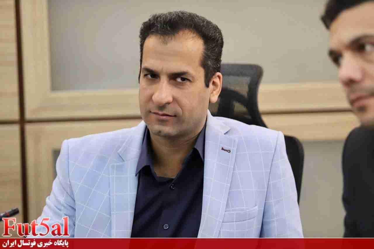 پرهیزکار: شهریور ماه یک فیفادی داریم/ شرایط به نفع فوتسال ایران است