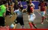 گزارش تصویری/بازی تیم های شهروند ساری با گیتی پسند اصفهان