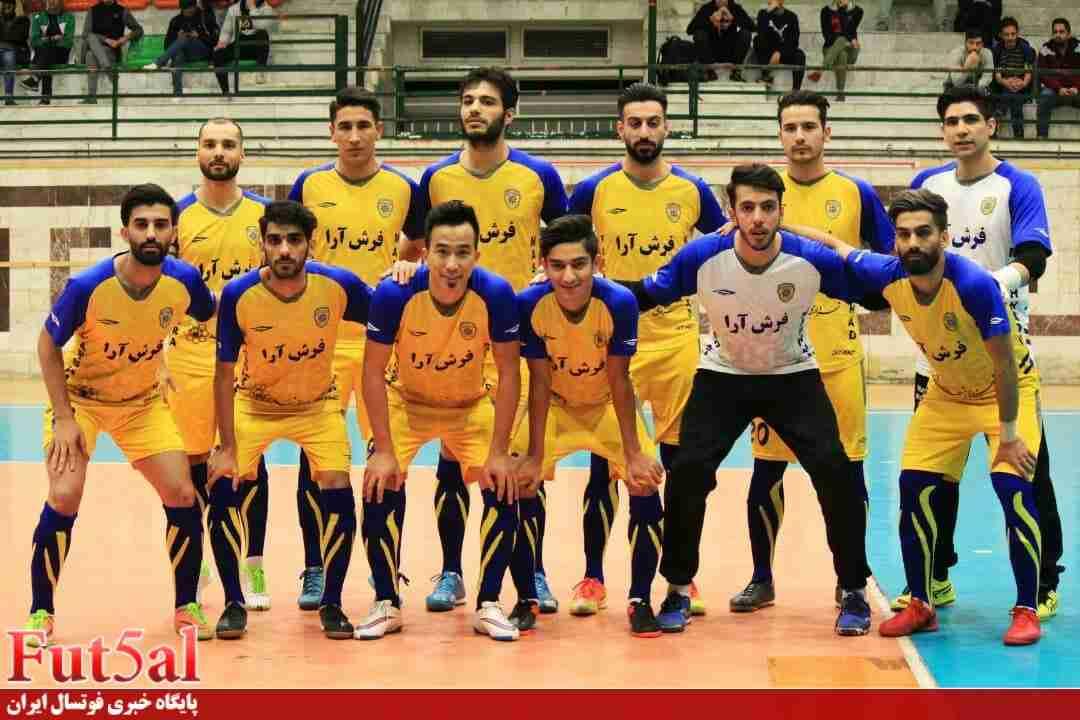 اختصاصی fut5al/ فهرست کامل تیم فرشآرا مشهد جهت حضور در فصل جدید لیگ برتر+عکس ها