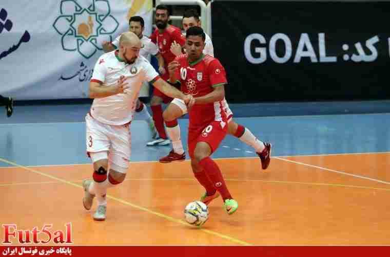 سری دوم گزارش تصویری/بازی تیم های ایران با بلاروس