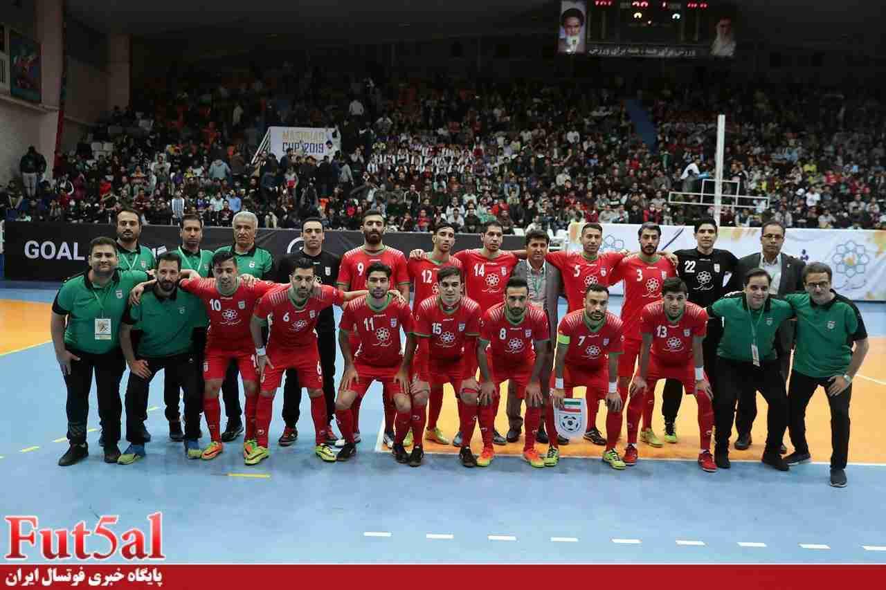 برگزاری اردوی نهایی تیم ملی فوتسال از اوایل بهمن