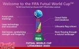 رونمایی فیفا از لوگوی جام جهانی فوتسال ۲۰۲۰