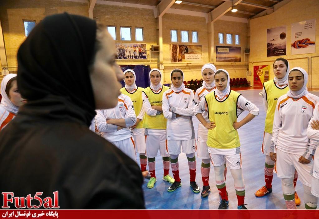 اسامی ۱۴ بازیکن اعزامی فوتسال بانوان به تاجیکستان اعلام شد
