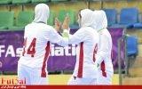 گزارش تصویری/بازی تیم های زیر ۲۰ سال بانوان ایران با افغانستان