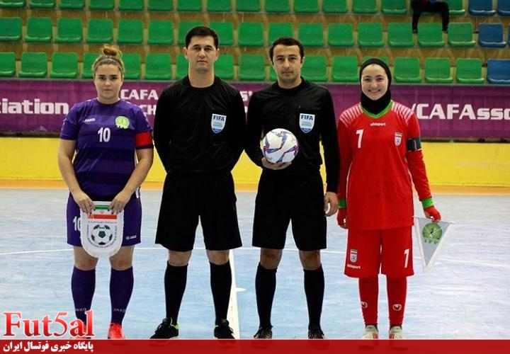 گزارش تصویری/بازی تیم های بانوان زیر۲۰ سال ایران با ترکمنستان