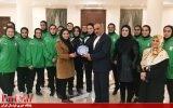 فوتسالیست های زیر ۲۰ سال میهمان سفیر ایران در تاجیکستان بودند