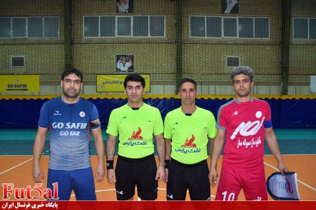 گزارش تصویری / بازی تیمهای سفیر گفتمان تهران و تابلو نصر شهرکرد